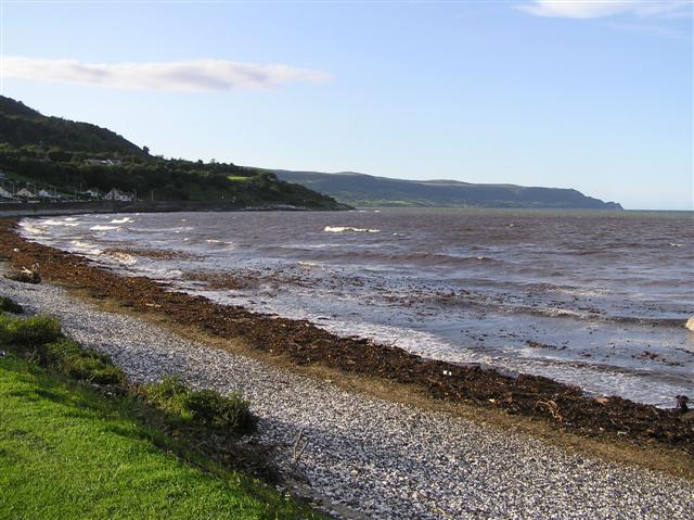 Glenarm beach, Glenarm, Antrim