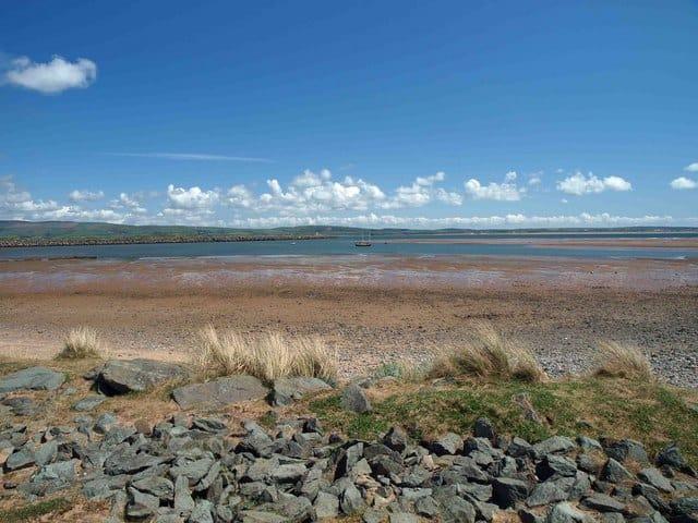 Haverigg beach, Millom, Cumbria