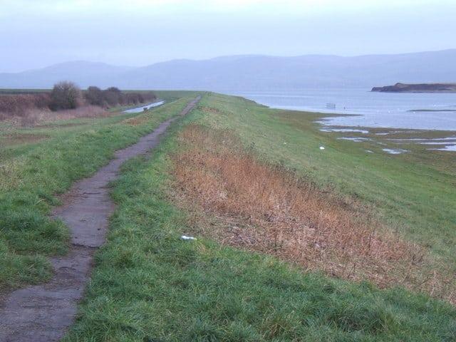 Millom beach, Millom, Cumbria