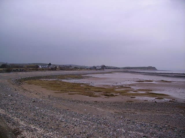 Newbiggin beach, Barrow-in-Furness, Cumbria