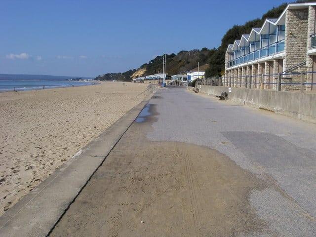 Branksome Chine Beach, Poole, Dorset