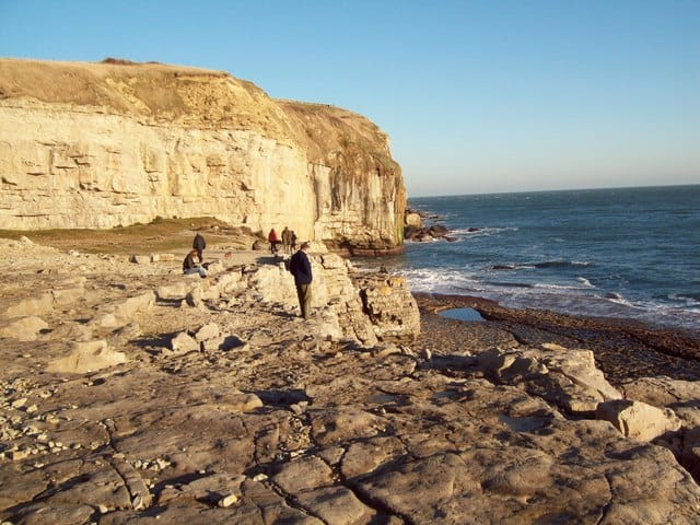 Dancing Ledge Beach, Swanage, Dorset