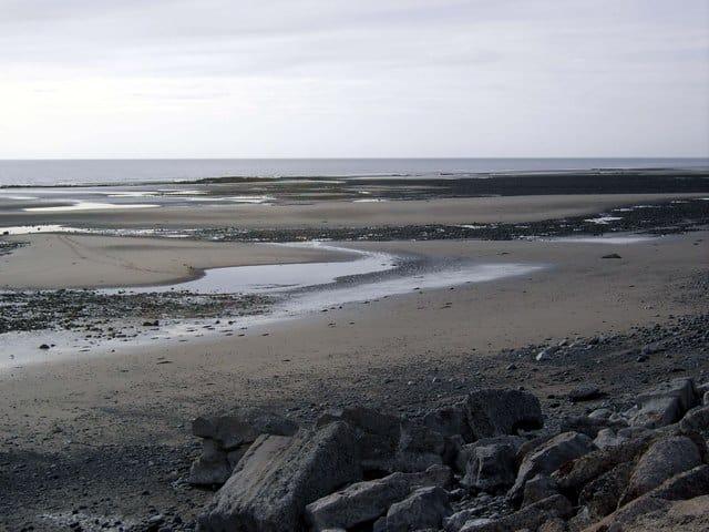 Biggar Bank beach, Walney Island, Barrow-in-Furness, Cumbria