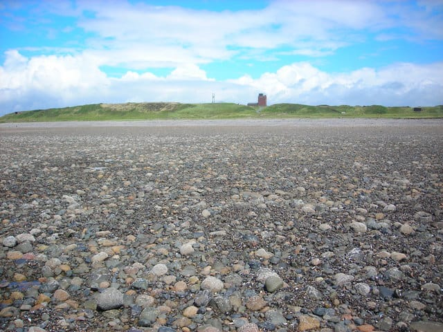 Sandy Gap beach, Vickerstown, Walney Island, Barrow-in-Furness, Cumbria