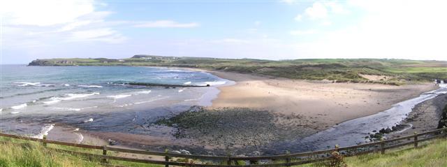 Runkerry Strand beach, Portballintrae, Country Antrim