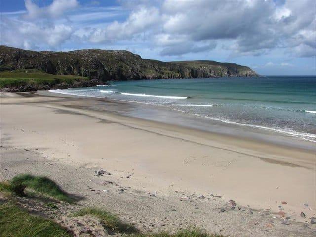 Cliff-beach