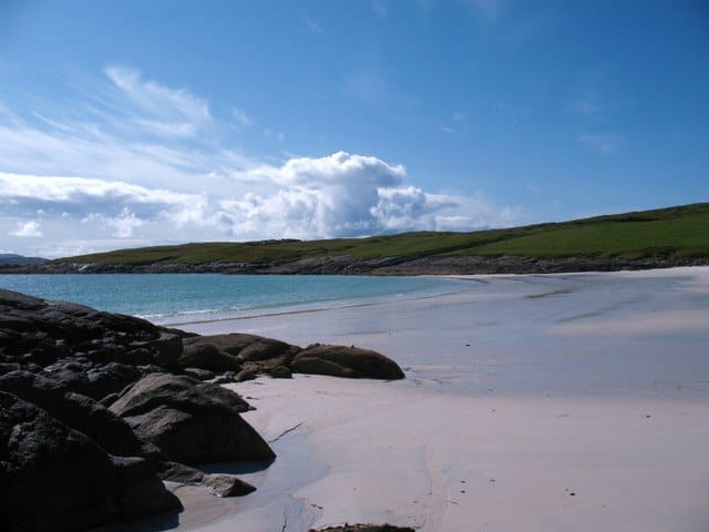 South Bay or Deas Bay Beach, Isle of Vatersay, Outer Hebrides