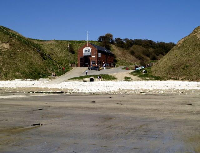 Flamborough lifeboat station, Flamborough, Bridlington, East Riding of Yorkshire