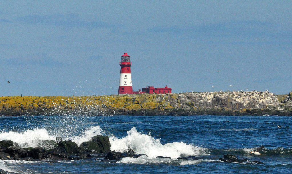 Longstone Lighthouse, Longstone Rock, Berwick-upon-Tweed, Northumberland