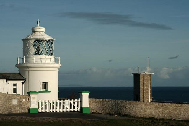 Anvil Point lighthouse, Swanage, Dorset