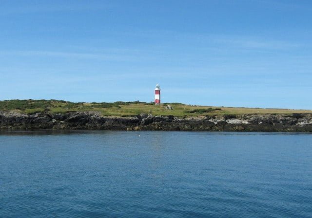 Bardsey lighthouse, Bardsey Island, Gwynedd