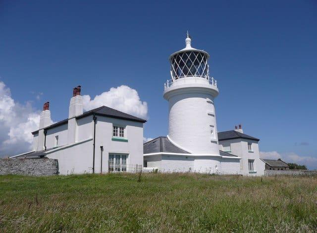 Caldey Island Lighthouse, Tenby, Pembrokeshire