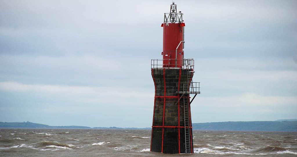 Monkstone Lighthouse, Bristol Channel