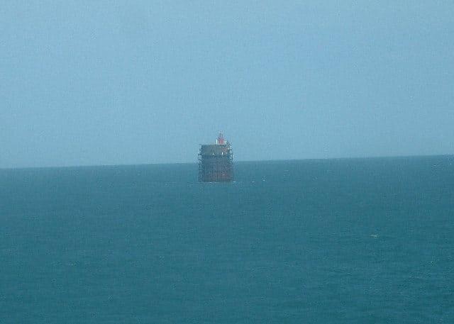 Nab Tower Lighthouse, Southampton, Hampshire