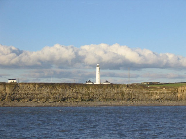 Nash Point Lighthouse, Nash Point, Vale of Glamorgan