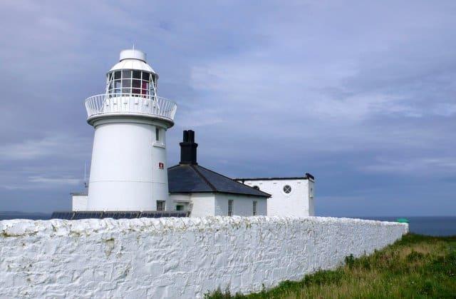 Farne Lighthouse, Farne Islands, Northumberland
