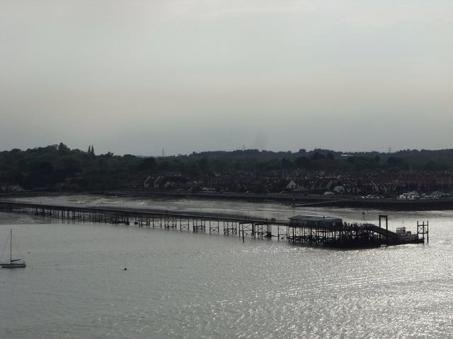 Hythe pier, Hythe, Southampton, Hampshire