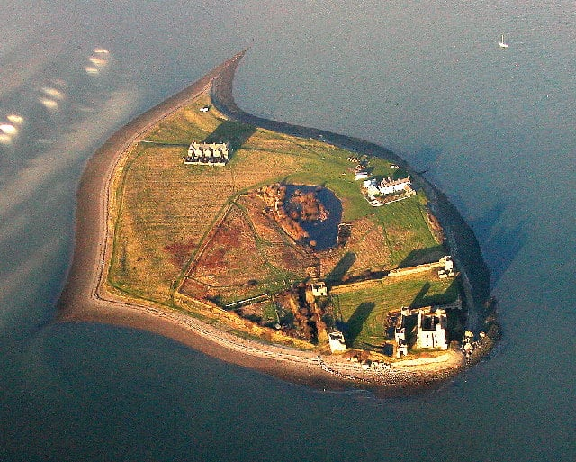 Piel Castle, Piel Island, Barrow-in-Furness, Cumbria