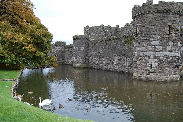 Beaumaris Castle, Beaumaris, Isle of Anglesey, Wales