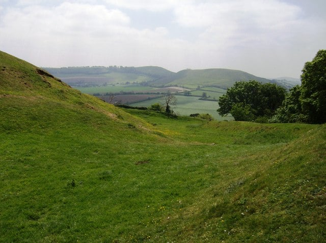 Cadbury Castle, Yeovil, Somerset