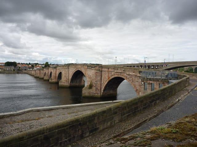 Berwick Bridge, Berwick-upon-Tweed, Northumberland
