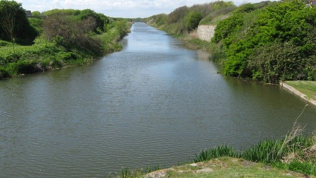 Royal Military Canal, Folkestone to Hastings, Kent