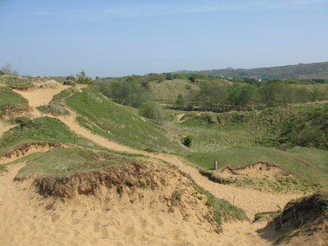Merthyr Mawr sand dunes, Porthcawl, Bridgend
