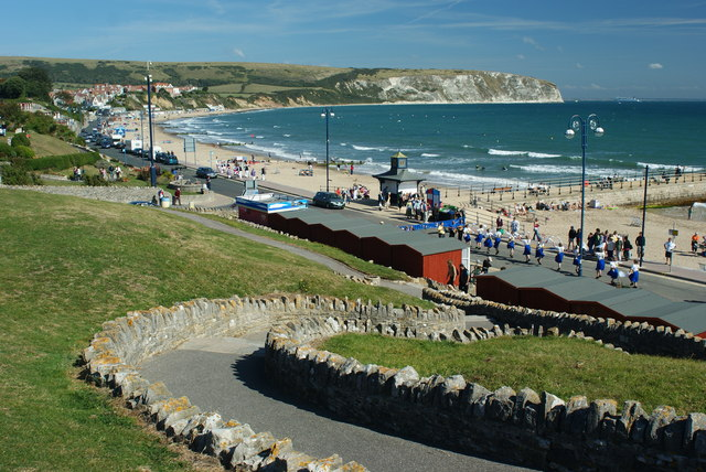 Swanage Bay Beach, Swanage, Dorset