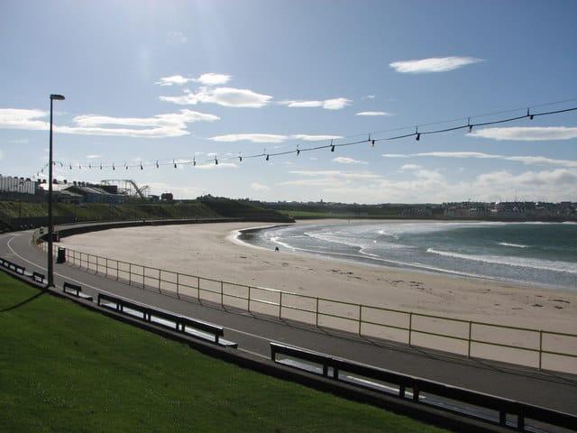West Strand beach, Portrush, County Antrim