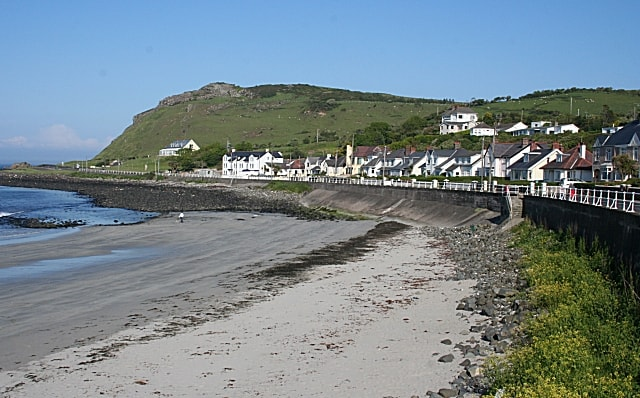 Ballygally beach, Ballygally, Antrim