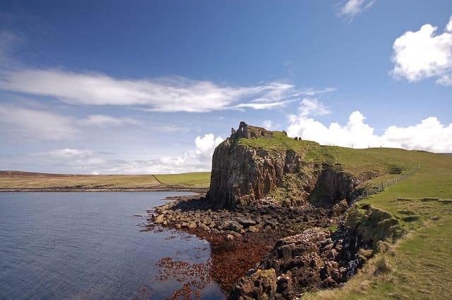 Duntulm Castle, Isle of Skye, Inner Hebrides