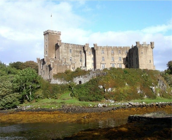Dunvegan Castle, Isle of Skye, Inner Hebrides