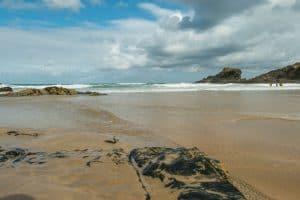 Trevone Bay Beach