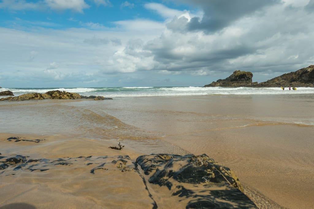 Trevone Bay beach, Padstow, Cornwall