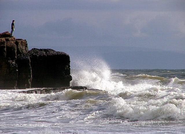 Rest Bay Beach, Porthcawl, Bridgend