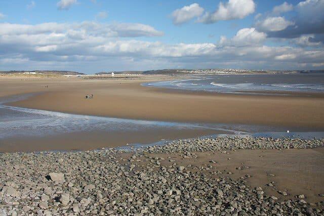 Sandy Bay Beach, Porthcawl, Bridgend