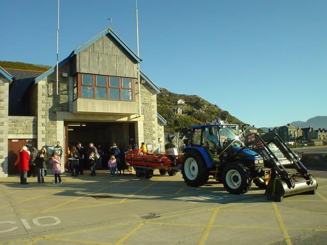 Barmouth lifeboat station, Barmouth, Gwynedd