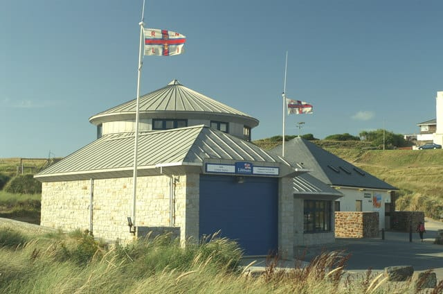 Bude lifeboat station, Summerleaze Cres, Bude, Cornwall