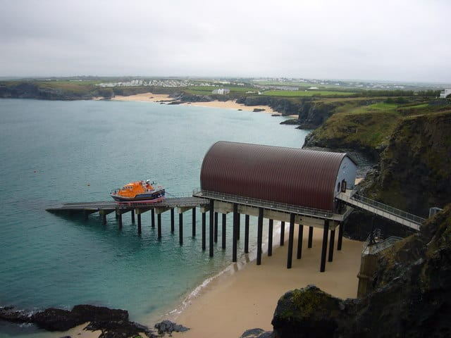 Padstow lifeboat station, Trevose Head, Padstow, Cornwall
