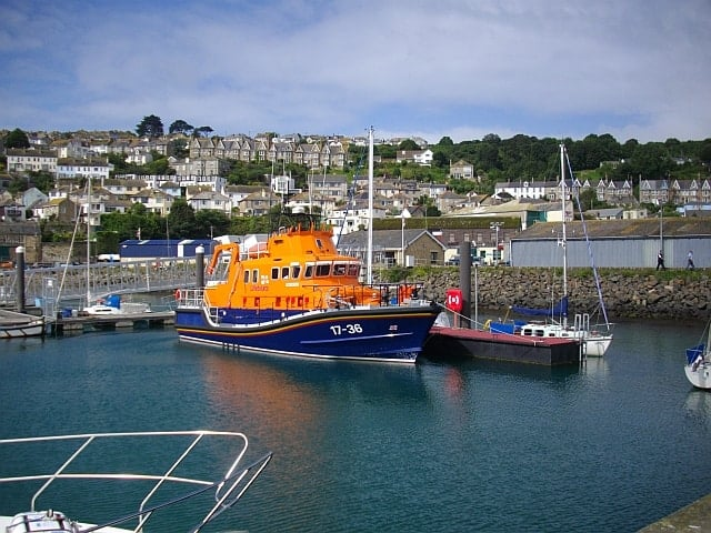 Penlee lifeboat station, Newlyn, Cornwall