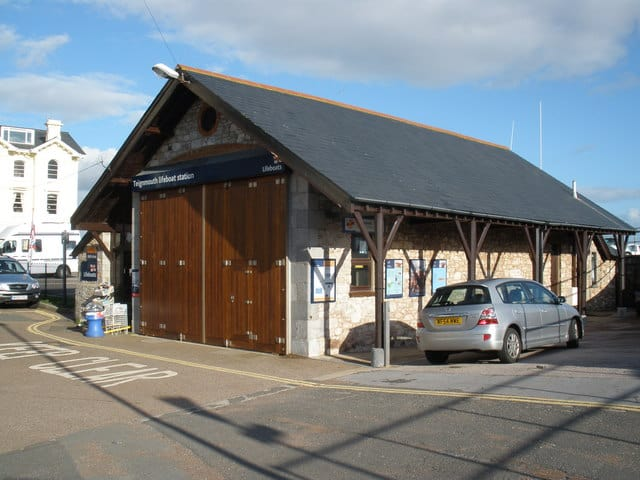 Teignmouth lifeboat station, Teignmouth, Devon
