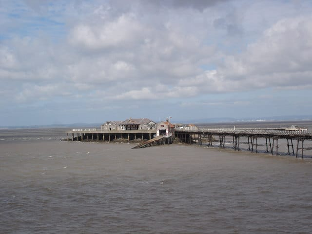 Weston-super-Mare lifeboat station, Birnbeck pier, Weston-super-Mare, Somerset