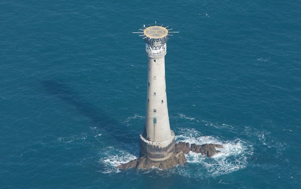 Bishop Rock lighthouse, Isles of Scilly, Cornwall