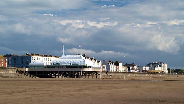 Burnham pier, Burnham-on-Sea, Somerset