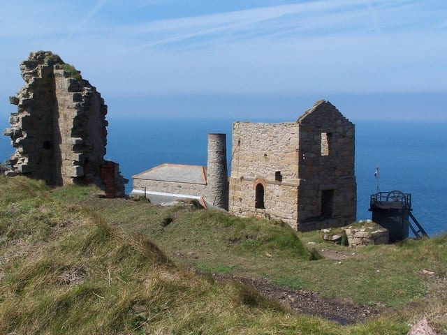 Levant Mine and Beam Engine, Trewellard, Pendeen, Cornwall