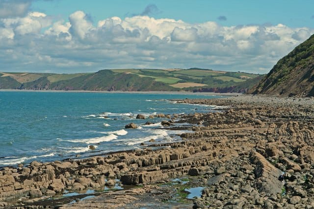 Bideford Bay and Hartland coast, Devon