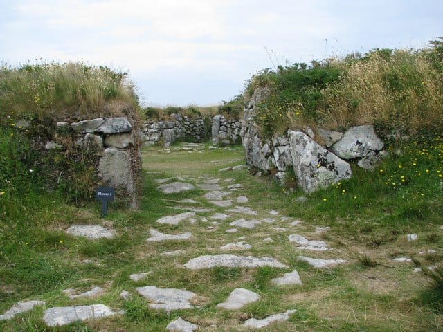 Chysauster Ancient Village, Gulval, Cornwall