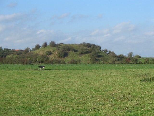 Skipsea Castle, Skipsea, East Riding of Yorkshire