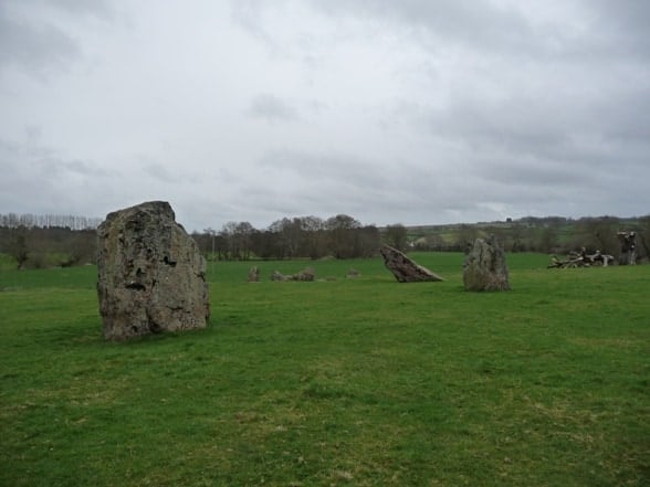 Stanton Drew Circles and Cove, Stanton, Somerset
