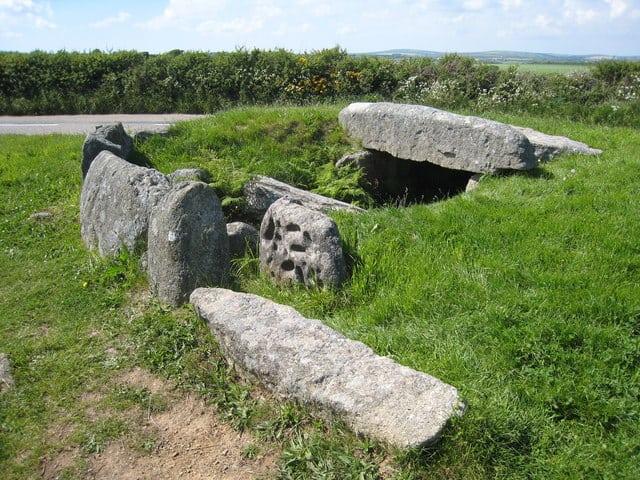 Tregiffian Burial Chamber, amorna, Cornwall